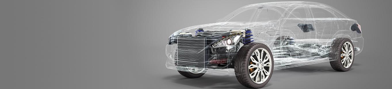 NUREL Engineering Polymers Weight Reduction Car Engine