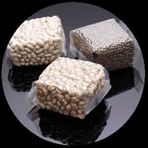 NUREL Engineering Polymers Film Soplado Legumbres Envasadas al Vacío