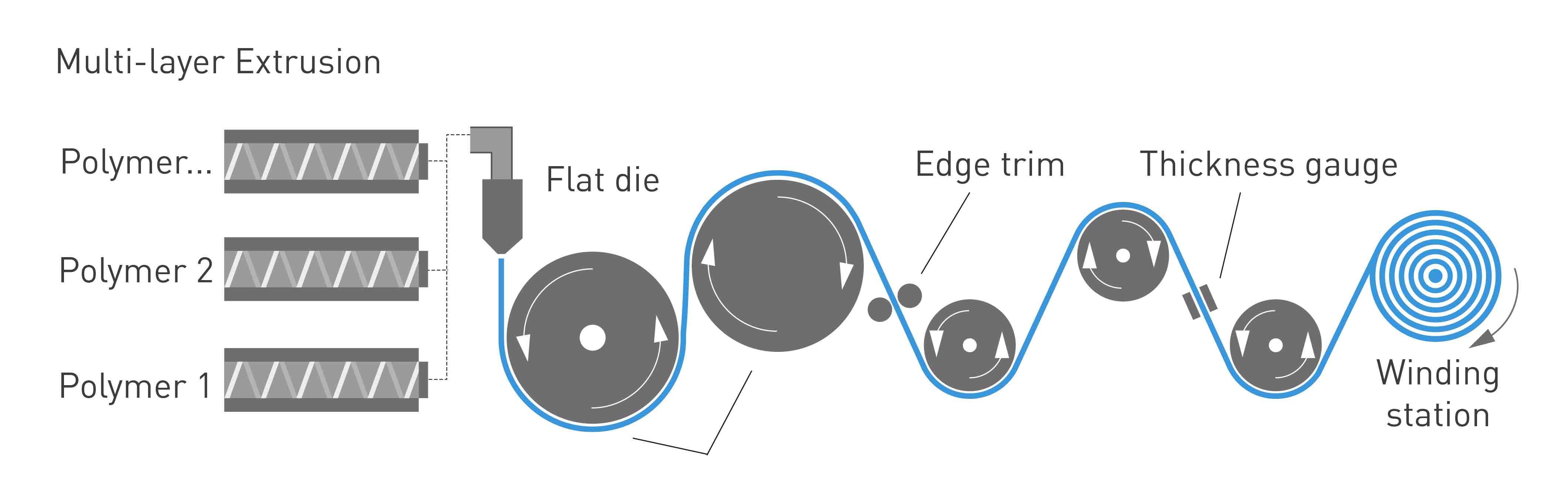 NUREL Engineering Polymers Cast Film Extrusion Process