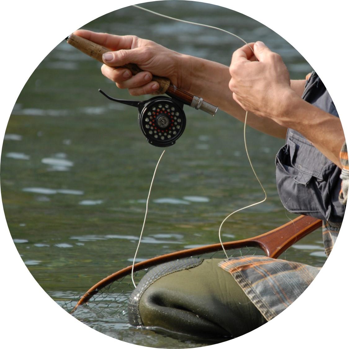 Hilo de pesca flexible nylon